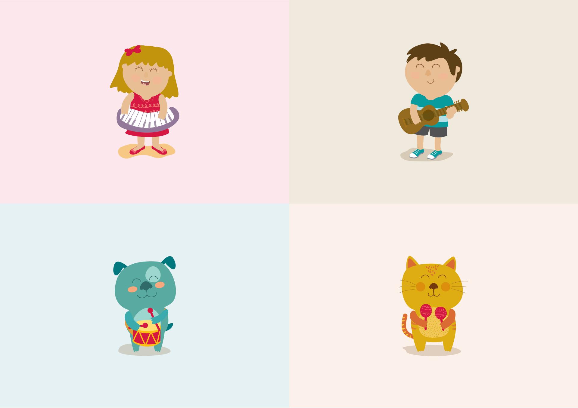 ilustración_personajes_cancion_cumple_2